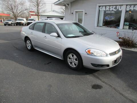 2011 Chevrolet Impala for sale at Cars 4 U in Liberty Township OH