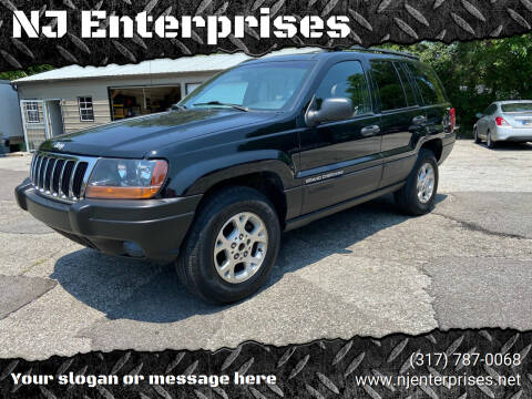 1999 Jeep Grand Cherokee for sale at NJ Enterprises in Indianapolis IN