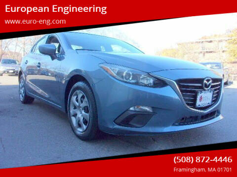 2016 Mazda MAZDA3 for sale at European Engineering in Framingham MA