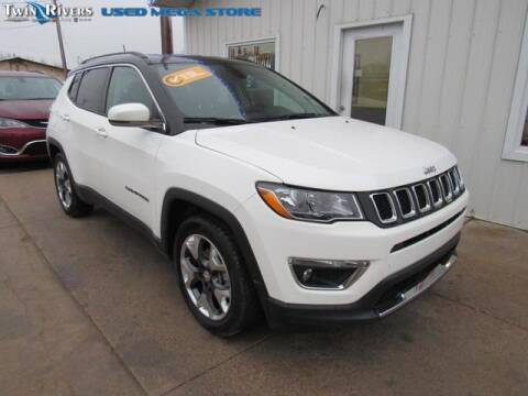 2019 Jeep Compass for sale at TWIN RIVERS CHRYSLER JEEP DODGE RAM in Beatrice NE