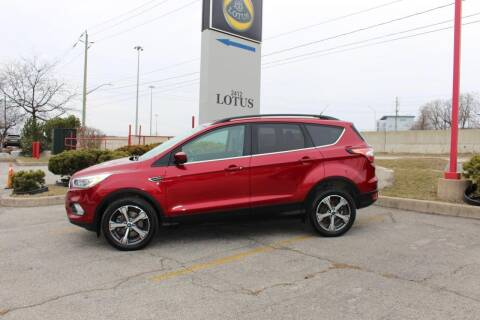 2017 Ford Escape for sale at Peninsula Motor Vehicle Group in Oakville NY