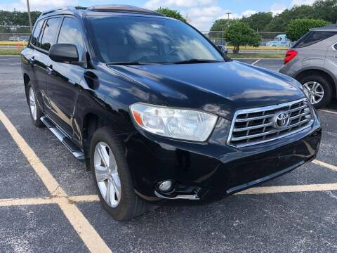 2008 Toyota Highlander for sale at KAYALAR MOTORS in Houston TX