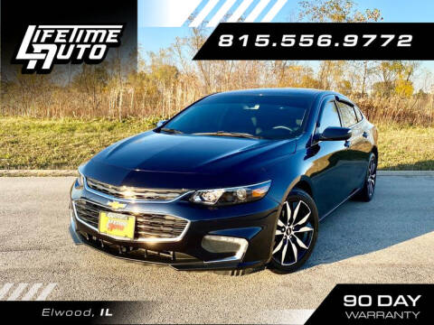 2017 Chevrolet Malibu for sale at Lifetime Auto in Elwood IL