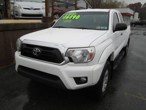 2015 Toyota Tacoma for sale at WORKMAN AUTO INC in Pleasant Gap PA