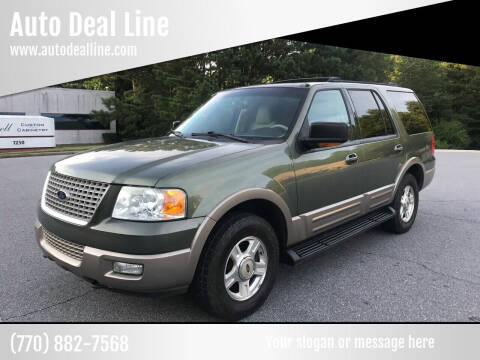 2003 Ford Expedition for sale at Auto Deal Line in Alpharetta GA
