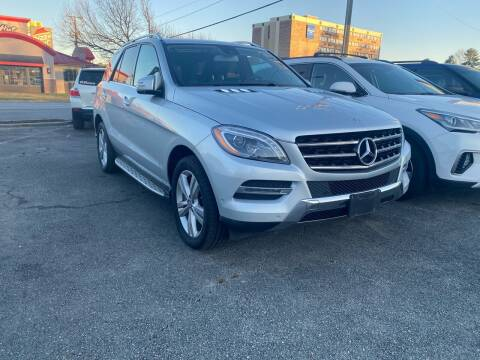 2015 Mercedes-Benz M-Class for sale at City to City Auto Sales in Richmond VA