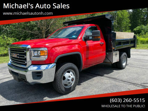 2015 GMC Sierra 3500HD for sale at Michael's Auto Sales in Derry NH
