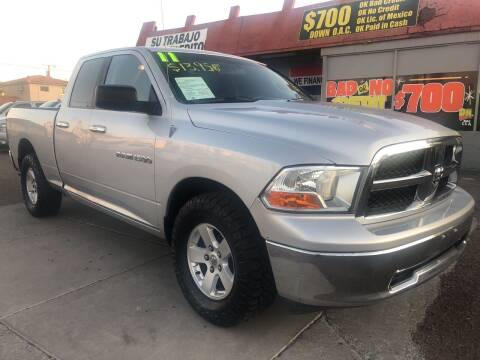 2011 RAM Ram Pickup 1500 for sale at Sunday Car Company LLC in Phoenix AZ