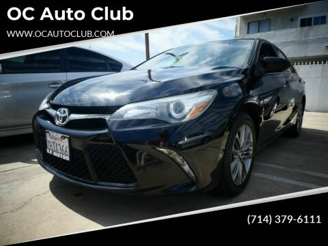 2015 Toyota Camry for sale at OC Auto Club in Midway City CA