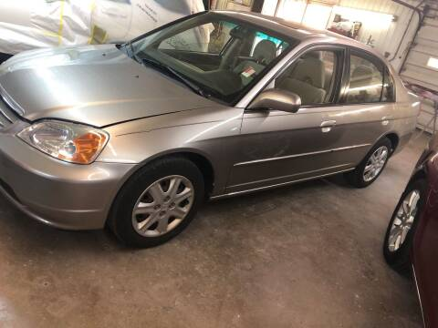 2003 Honda Civic for sale at BELL AUTO & TRUCK SALES in Fort Wayne IN