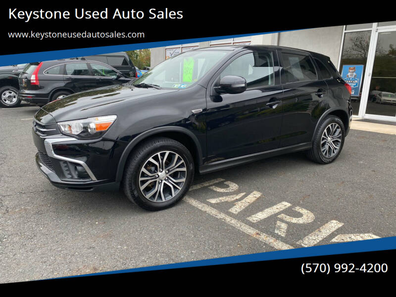 2018 Mitsubishi Outlander Sport for sale at Keystone Used Auto Sales in Brodheadsville PA