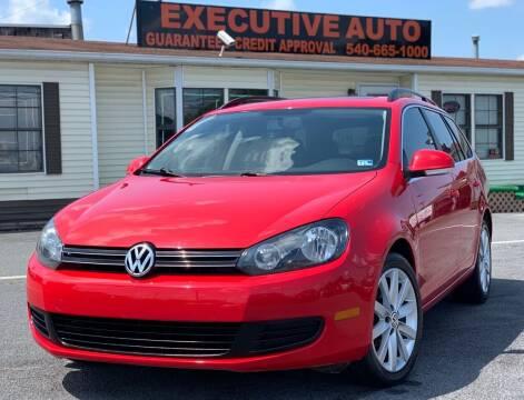 2012 Volkswagen Jetta for sale at Executive Auto in Winchester VA