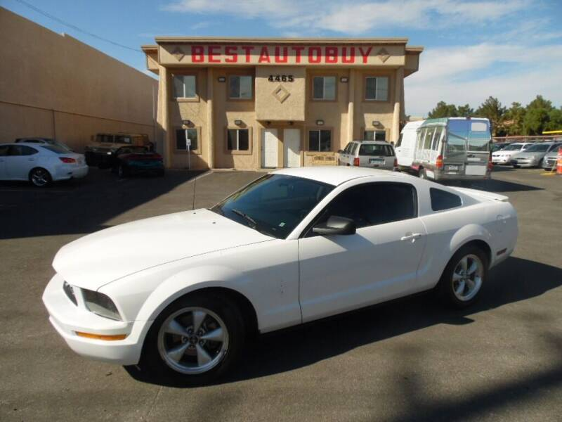 2007 Ford Mustang for sale at Best Auto Buy in Las Vegas NV