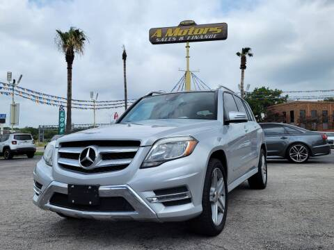 2015 Mercedes-Benz GLK for sale at A MOTORS SALES AND FINANCE - 6226 San Pedro Lot in San Antonio TX