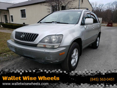 1999 Lexus RX 300 for sale at Wallet Wise Wheels in Montgomery NY