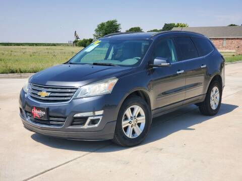 2014 Chevrolet Traverse for sale at Chihuahua Auto Sales in Perryton TX