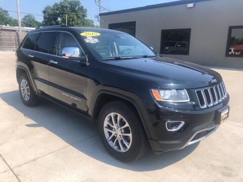 2015 Jeep Grand Cherokee for sale at Tigerland Motors in Sedalia MO