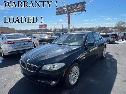 2012 BMW 5 Series for sale at Divan Auto Group in Feasterville PA
