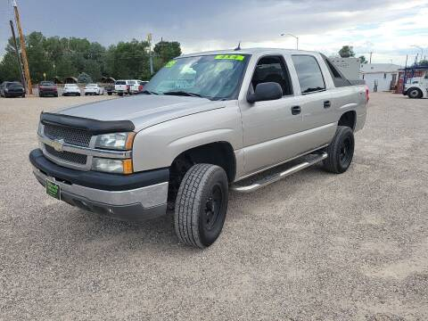 2004 Chevrolet Avalanche for sale at Canyon View Auto Sales in Cedar City UT
