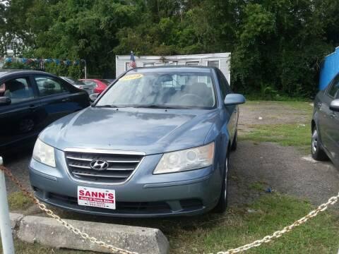 2009 Hyundai Sonata for sale at Sann's Auto Sales in Baltimore MD