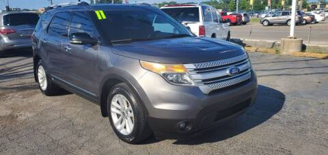 2011 Ford Explorer for sale at I-80 Auto Sales in Hazel Crest IL