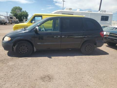 2007 Dodge Caravan for sale at PYRAMID MOTORS - Fountain Lot in Fountain CO