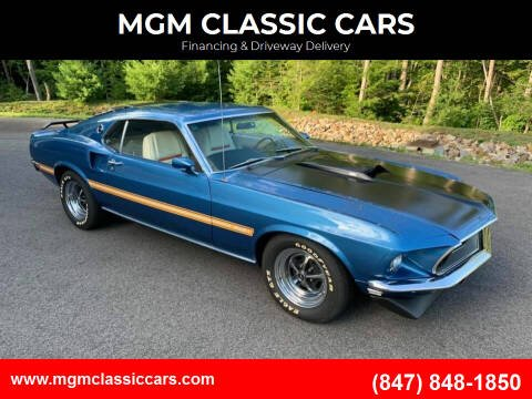 1969 Ford Mustang for sale at MGM CLASSIC CARS-New Arrivals in Addison IL