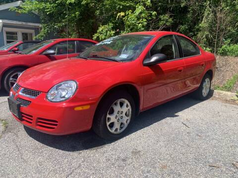 2004 Dodge Neon for sale at LONGWOOD MOTORS in Stockholm NJ