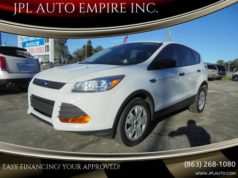 2016 Ford Escape for sale at JPL AUTO EMPIRE INC. in Auburndale FL
