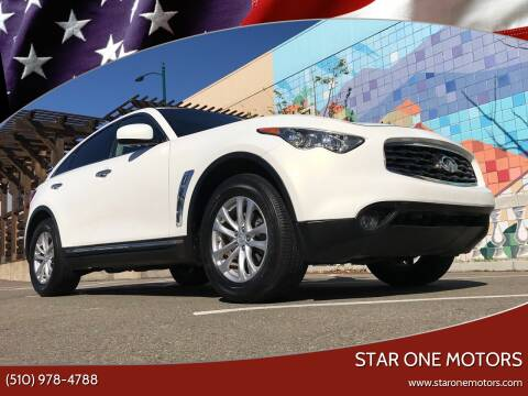 2011 Infiniti FX35 for sale at Star One Motors in Hayward CA