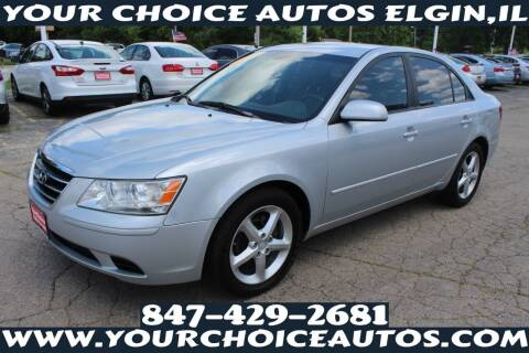 2010 Hyundai Sonata for sale at Your Choice Autos - Elgin in Elgin IL