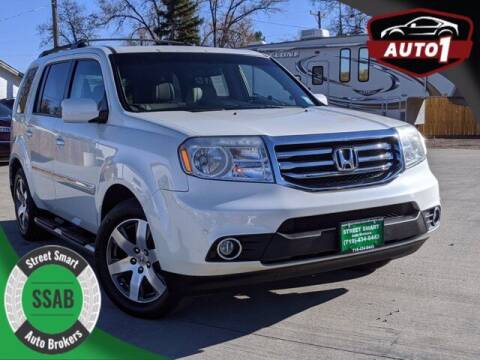 2015 Honda Pilot for sale at Street Smart Auto Brokers in Colorado Springs CO