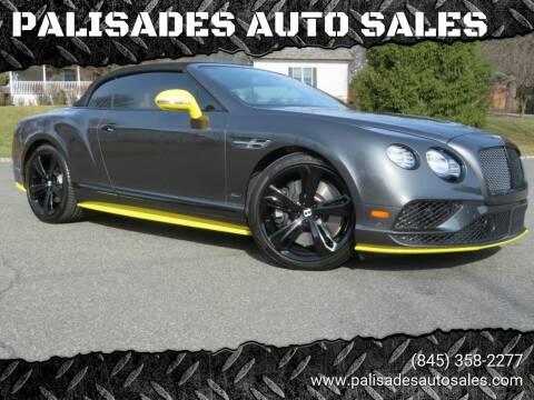 2017 Bentley Continental for sale at PALISADES AUTO SALES in Nyack NY