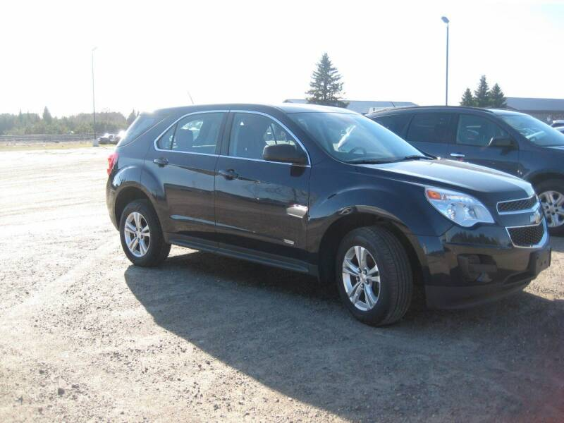 2016 Chevrolet Equinox for sale at Rice Auto Sales in Rice MN