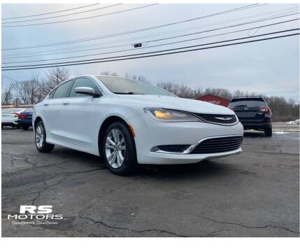 2015 Chrysler 200 for sale at RS Motors in Falconer NY