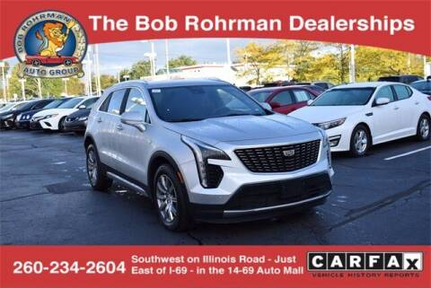 2020 Cadillac XT4 for sale at BOB ROHRMAN FORT WAYNE TOYOTA in Fort Wayne IN