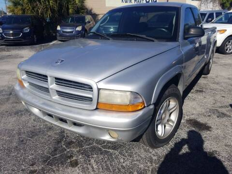 2001 Dodge Dakota for sale at Castle Used Cars in Jacksonville FL