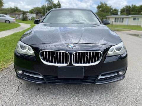 2015 BMW 5 Series for sale at CAR UZD in Miami FL