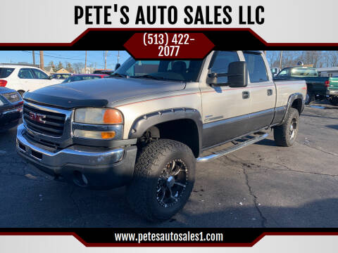 2007 GMC Sierra 2500HD Classic for sale at PETE'S AUTO SALES LLC - Middletown in Middletown OH