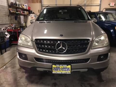 2006 Mercedes-Benz M-Class for sale at Worldwide Auto Sales in Fall River MA