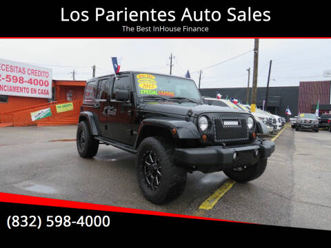 2012 Jeep Wrangler Unlimited for sale at Los Parientes Auto Sales in Houston TX