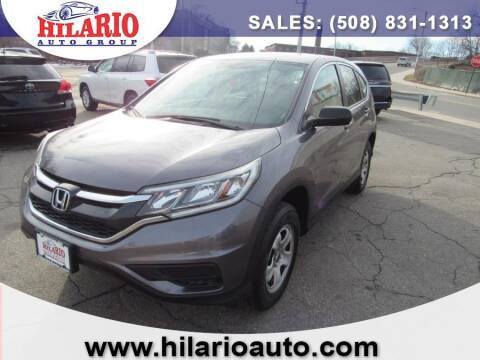 2016 Honda CR-V for sale at Hilario's Auto Sales in Worcester MA