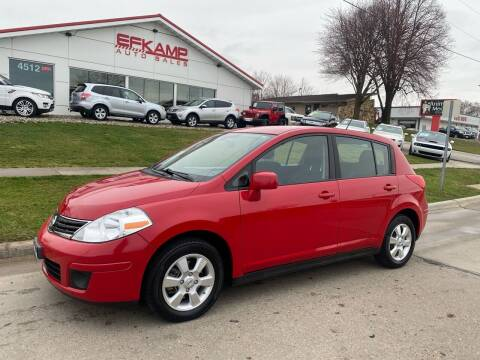 2012 Nissan Versa for sale at Efkamp Auto Sales LLC in Des Moines IA