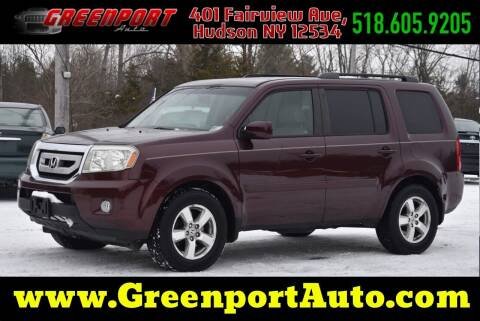 2010 Honda Pilot for sale at GREENPORT AUTO in Hudson NY