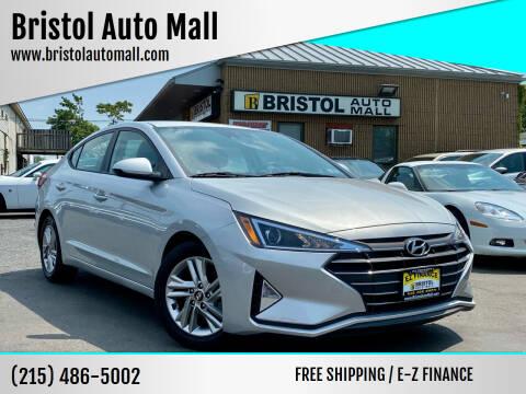 2019 Hyundai Elantra for sale at Bristol Auto Mall in Levittown PA