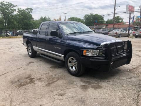 2002 Dodge Ram Pickup 1500 for sale at Approved Auto Sales in San Antonio TX