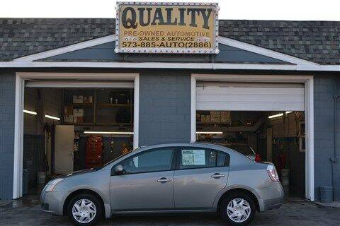 2007 Nissan Sentra for sale at Quality Pre-Owned Automotive in Cuba MO