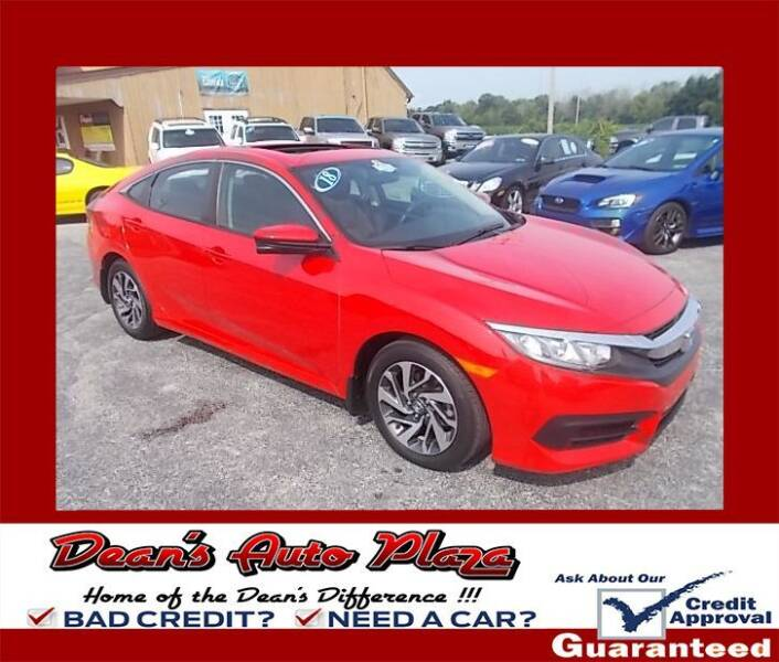 2018 Honda Civic for sale at Dean's Auto Plaza in Hanover PA
