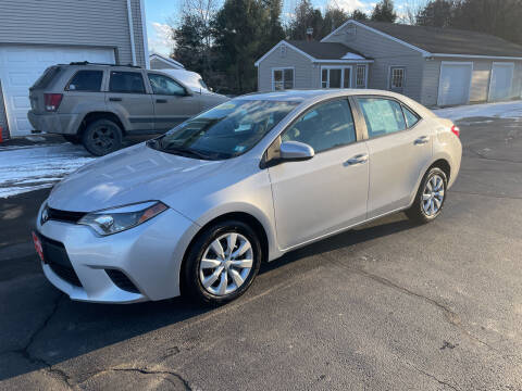 2014 Toyota Corolla for sale at Glen's Auto Sales in Fremont NH