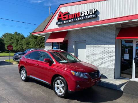 2011 Lexus RX 350 for sale at AG AUTOGROUP in Vineland NJ